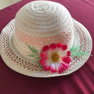 Little White Straw Hat-Girls